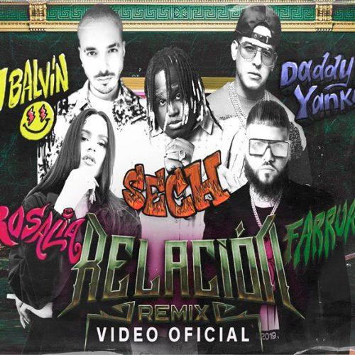 Sech, Daddy Yankee, J Balvin ft. Rosalía, Farruko – Relación Remix